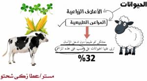 شرح درس الثروة الحيوانية والسمكية فى الوطن العربى
