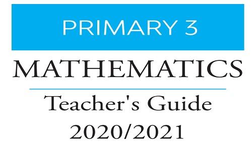 دليل المعلم لمادة الماث للصف الثالث الإبتدائي ترم أول